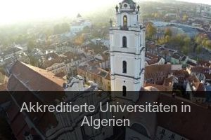Akkreditierte Universitäten in Algerien