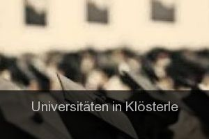 Universitäten in Klösterle